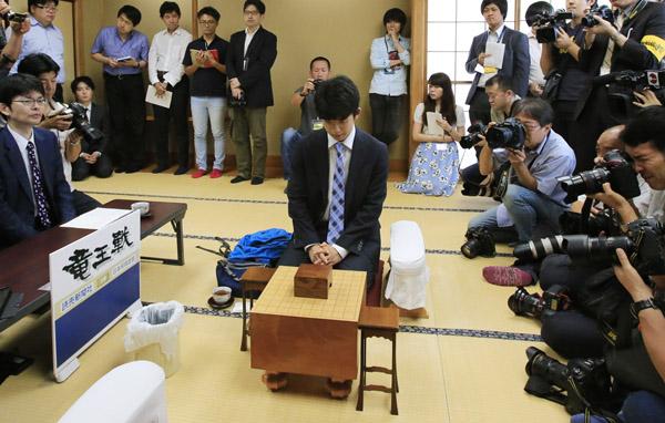 藤井四段は5歳で将棋教室通いを志願(C)日刊ゲンダイ
