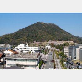 鳥取城跡(提供)鳥取市教育委員会