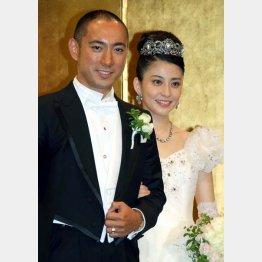 海老蔵と麻央さんは2010年に結婚(C)日刊ゲンダイ