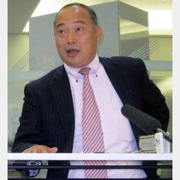 Jリーグ常務理事を辞任した中西大介氏(C)日刊ゲンダイ