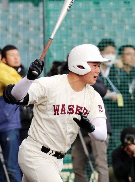 清宮選手は自宅でも練習できる(C)日刊ゲンダイ