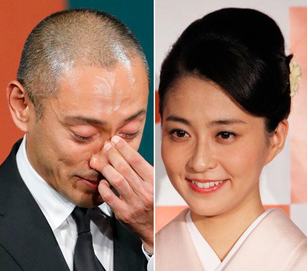市川海老蔵と小林麻央夫妻(C)日刊ゲンダイ