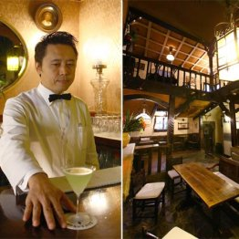 銀座ボルドー(閉店) 山本五十六も通った東京最古のバー