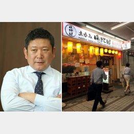 都内に30店舗を展開する晩杯屋の金子源社長(C)日刊ゲンダイ