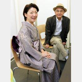 桂あやめさん(左)と吉川潮さん/(C)日刊ゲンダイ