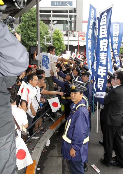 アキバ演説で爆発した有権者の怒り(C)日刊ゲンダイ