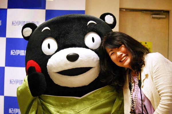 九州出張では事前にくまモンイベントをチェックする(C)2010熊本県くまモン
