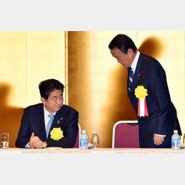 安倍首相は疑心暗鬼に(C)日刊ゲンダイ