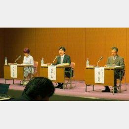 舛添氏サイドにとっては無念のジャッジが下された(C)日刊ゲンダイ