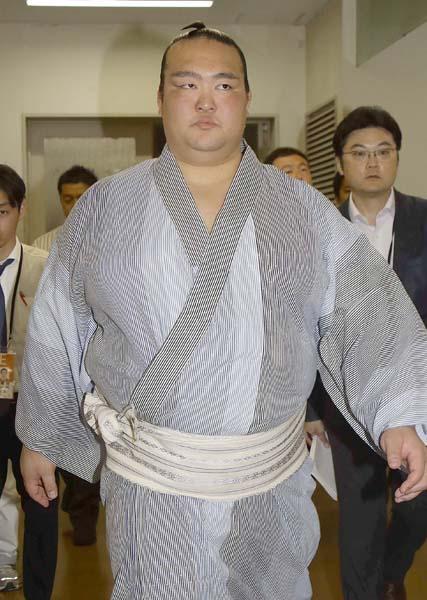 名古屋場所への出場を明言(C)日刊ゲンダイ