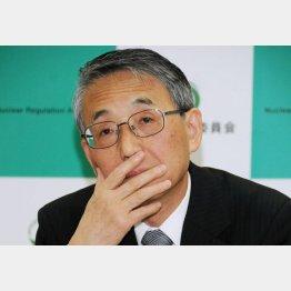 田中原子力規制委員長(C)日刊ゲンダイ