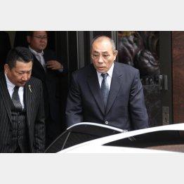 神戸山口組の井上邦雄組長(C)日刊ゲンダイ