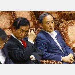 安倍首相の不在を守り切れず(C)日刊ゲンダイ