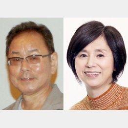 不倫関係が報じられたベンガル(左)と朝加真由美(C)日刊ゲンダイ