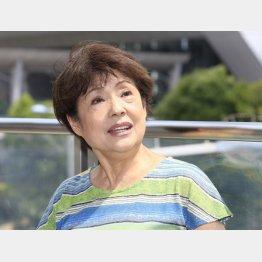 芸能リポーターの川内天子さん(C)日刊ゲンダイ