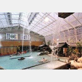 霧島ホテルの大浴場(提供写真)