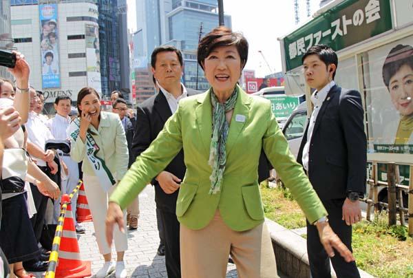 都民ファーストの会の圧勝となった東京都議選(C)日刊ゲンダイ