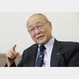 鈴与の鈴木与平会長(C)日刊ゲンダイ