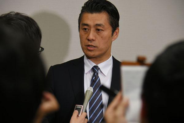 民進党内に居場所のない細野豪志氏(C)日刊ゲンダイ