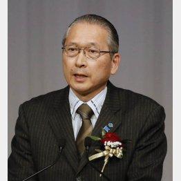 連合の神津会長(C)日刊ゲンダイ