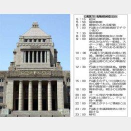 美人秘書たちの24時間(C)日刊ゲンダイ