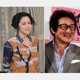 水田伸生さん(右)への感謝を語った濱田マリさん(C)日刊ゲンダイ