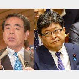 """丸川氏に""""禅譲""""で院政狙いか(C)日刊ゲンダイ"""