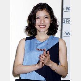 錦戸亮の妻役を演じる松岡茉優(C)日刊ゲンダイ