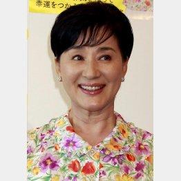 """次々と動画を""""投下""""する松居一代/(C)日刊ゲンダイ"""