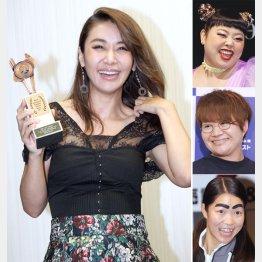 左から時計回りに鈴木紗理奈、渡辺直美、近藤春菜、イモトアヤコ(C)日刊ゲンダイ