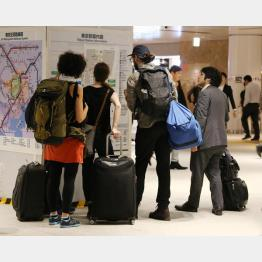 外国人観光客の利用は多いが…(C)日刊ゲンダイ