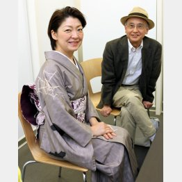 桂あやめと吉川潮(C)日刊ゲンダイ