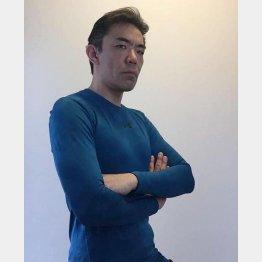 川下和彦さんは三段腹からモデル顔負けに(提供写真)