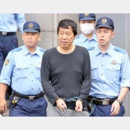 銃刀法違反と器物損壊の容疑で逮捕された神戸山口組山健組系組幹部の山本孝博容疑者(C)日刊ゲンダイ