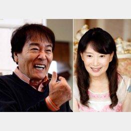 アグネス・チャン(右)も平尾昌晃さんへの感謝を語っていた/(C)日刊ゲンダイ