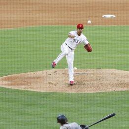 四回、イチローに適時二塁打を打たれたダルビッシュ