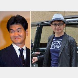 「こうして役者をしていられるのは紳助さんのおかげ」と語る木下ほうかさん(右)/(C)日刊ゲンダイ