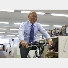 ビィ・フォアードの山川博功社長(C)日刊ゲンダイ