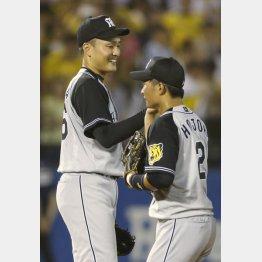 9勝目の秋山(C)日刊ゲンダイ