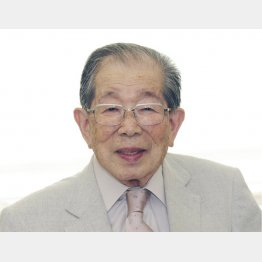 105歳で大往生(C)共同通信社