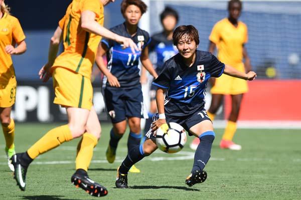 途中出場で2試合連続ゴールを奪ったFW籾木(C)早草紀子