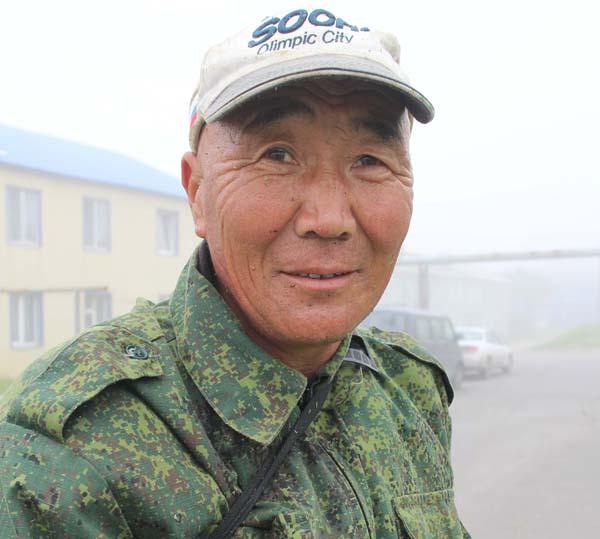 キルギス共和国からの出稼ぎ労働者(提供写真)