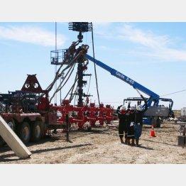米テキサス州のシェールガスなどを採掘する「井戸」/(C)共同通信社