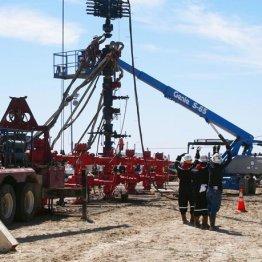 米テキサス州のシェールガスなどを採掘する「井戸」