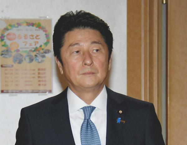 一億総活躍大臣として初入閣した松山政司氏(C)日刊ゲンダイ