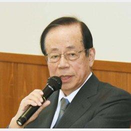 福田康夫元首相(C)日刊ゲンダイ