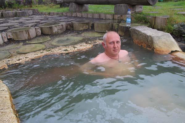 択捉島の温泉も人気(提供写真)