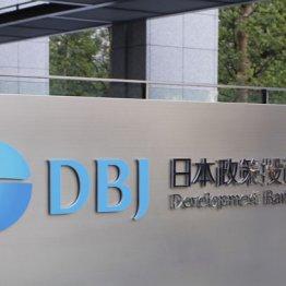 筆頭株主は日本政策投資銀行