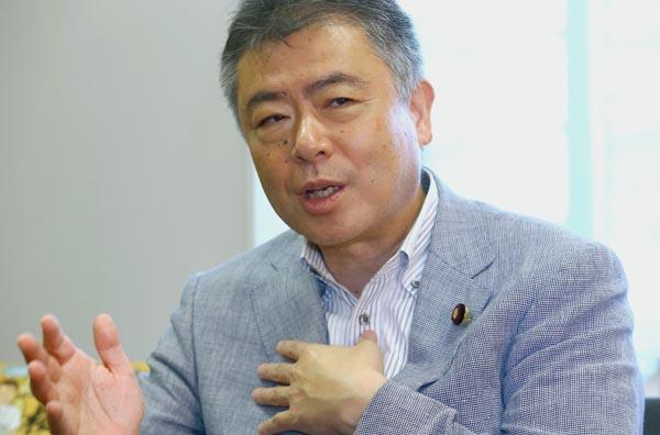 閉会中審査でも存在感を示した桜井充参議院議員(C)日刊ゲンダイ