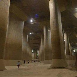 """東京の巨大地下貯水池 """"パンク""""の雨量と河川決壊の可能性"""